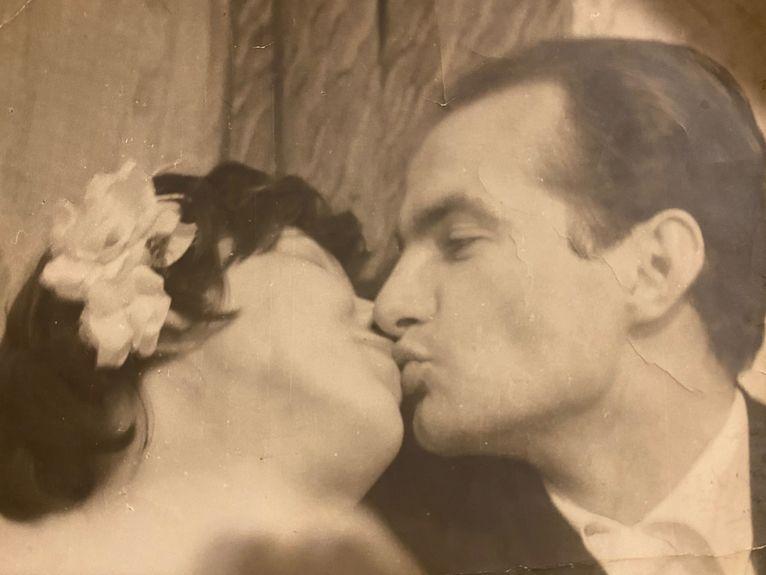 Jedyne ślubne zdjęcie