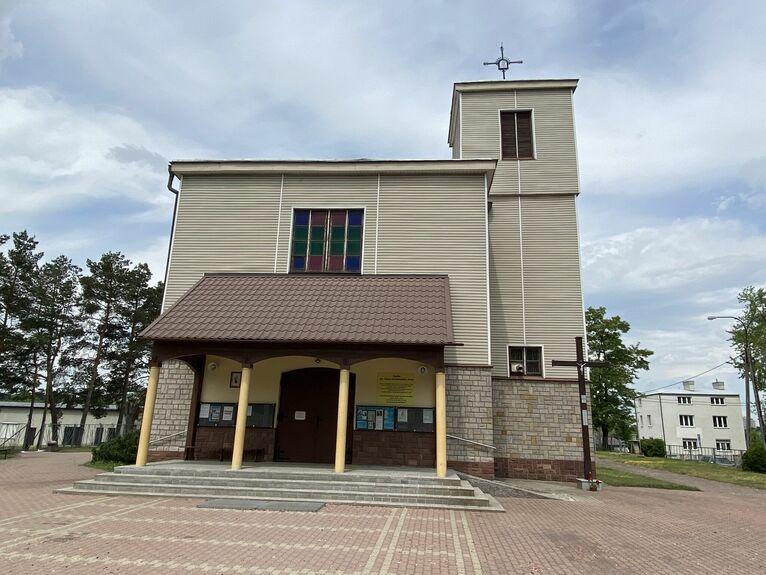 Kościół przy ul. Krochmalnej.