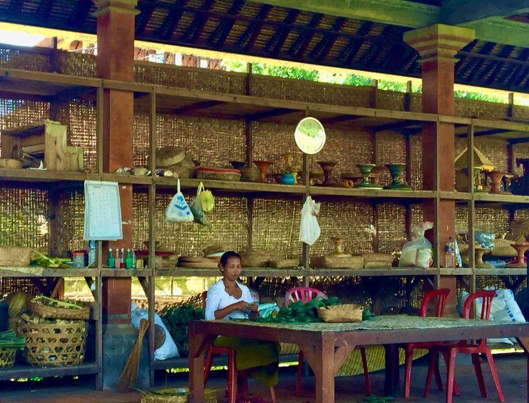 Pisanki z Bali.