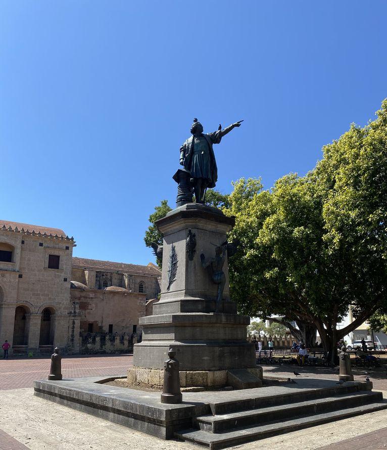 Krzysztof Kolumb w Santo Domingo