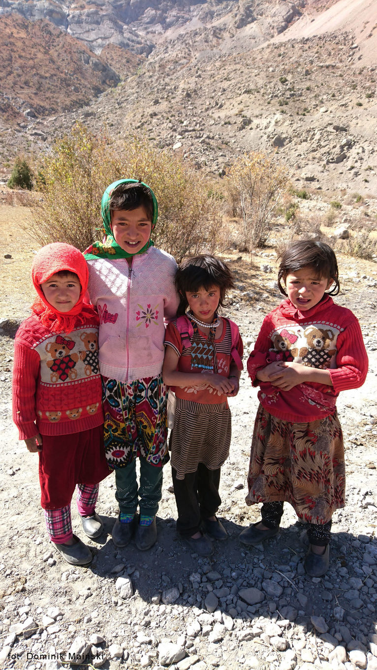 Dzieci z Tadżygistanu.