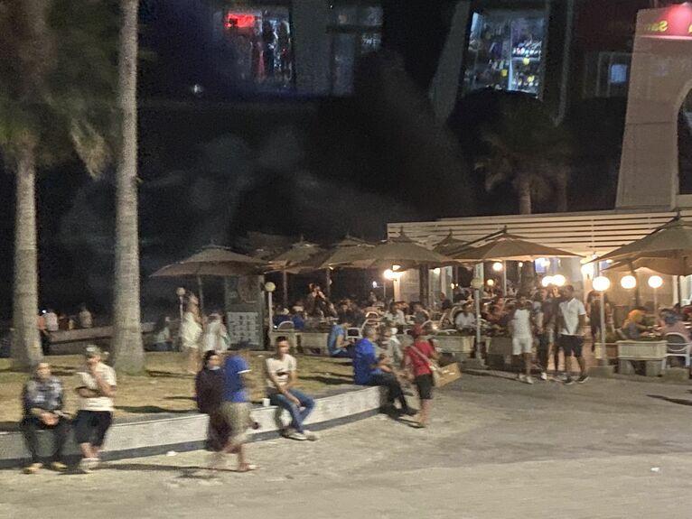 Wieczór w Sousse.