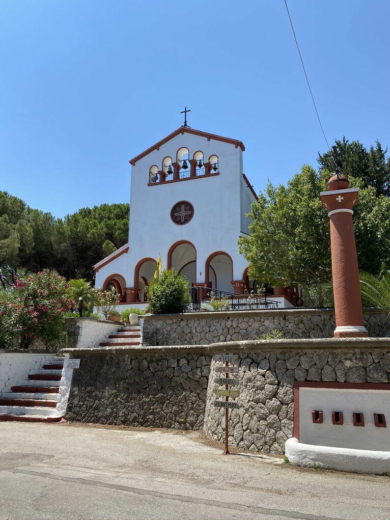 Kościół w Eleousa.