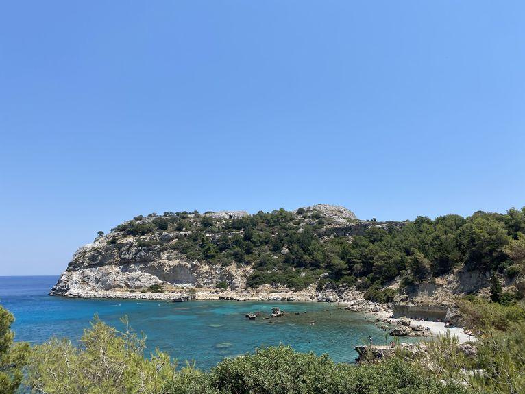 Plaże na Rodos czekały na turystów