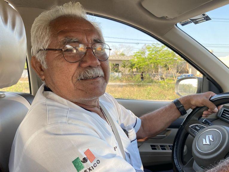 Adolfo Diaz, nasz kierowca.