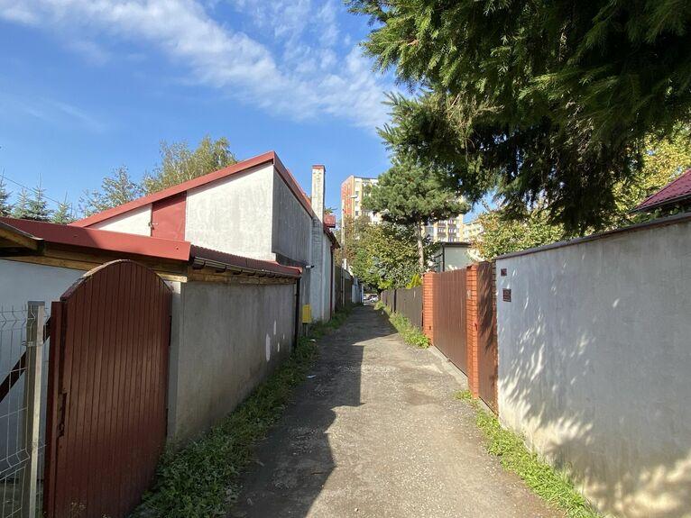 Domki przy ul. Nabystrzyckiej.