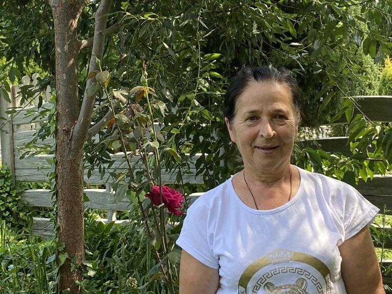 Ewa Górnik - woda pomaga, jak się ma wiarę.