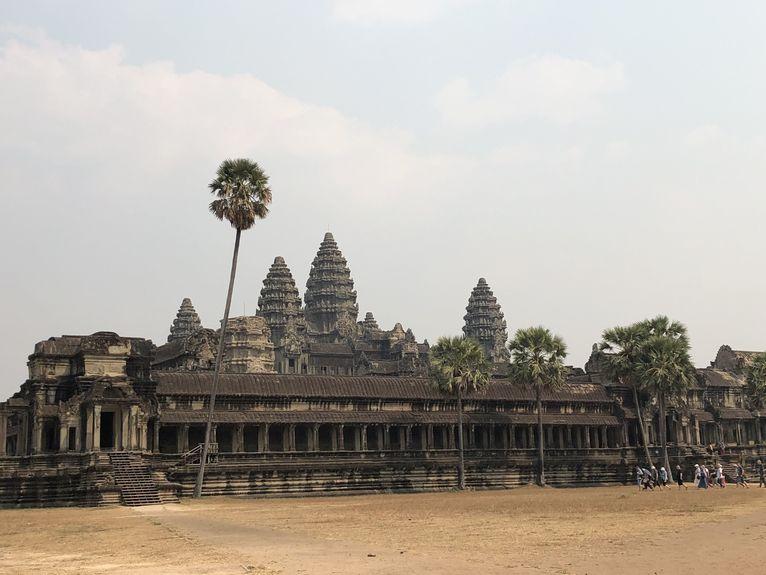 Angkor Wat - takie zwiedzanie to luksus