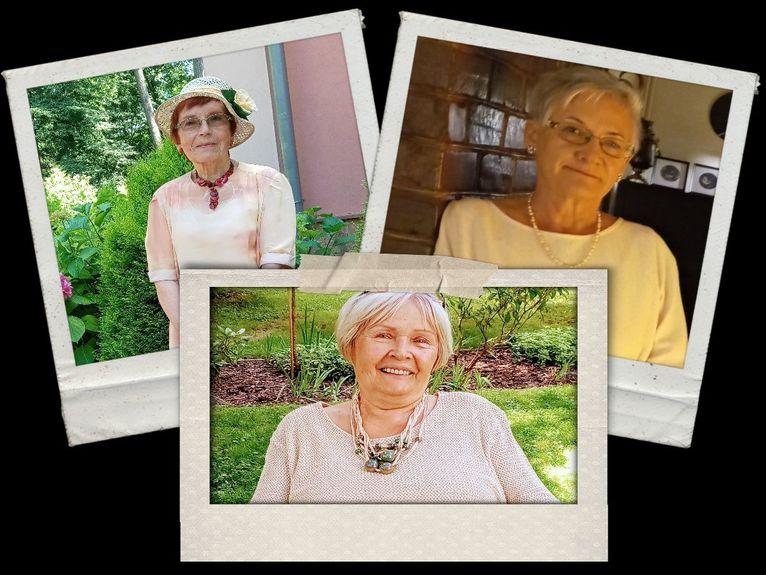 Członkinie klubu: od lewej Sabina Seroczyńska – Kozuba, Maria Kozak, Maria Przybyłko