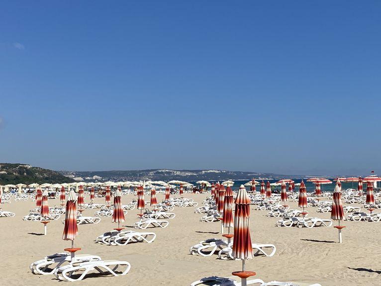 Albena - plaże bez turystów