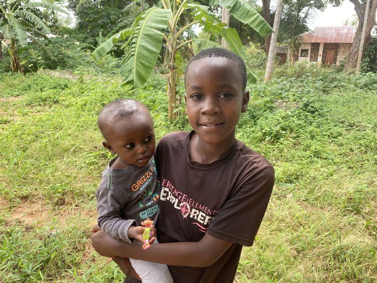Dzieci z wioski.