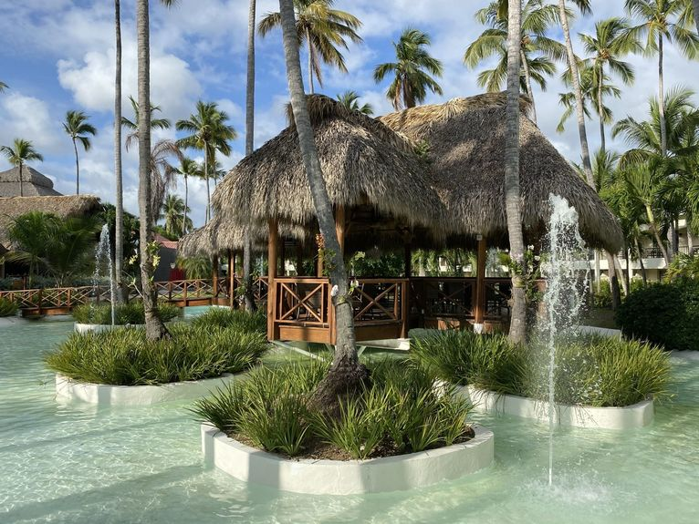 Ogród w hotelu Impressive jest przepiękny