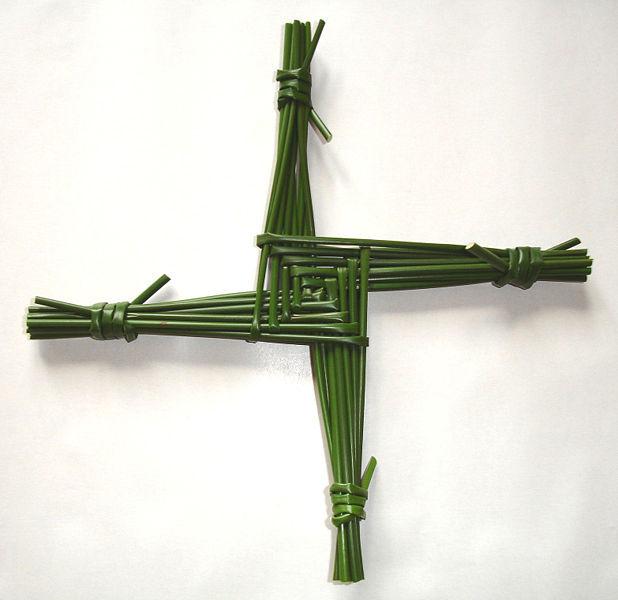 krzyż św. Brygidy - domena publiczna, wikipedia