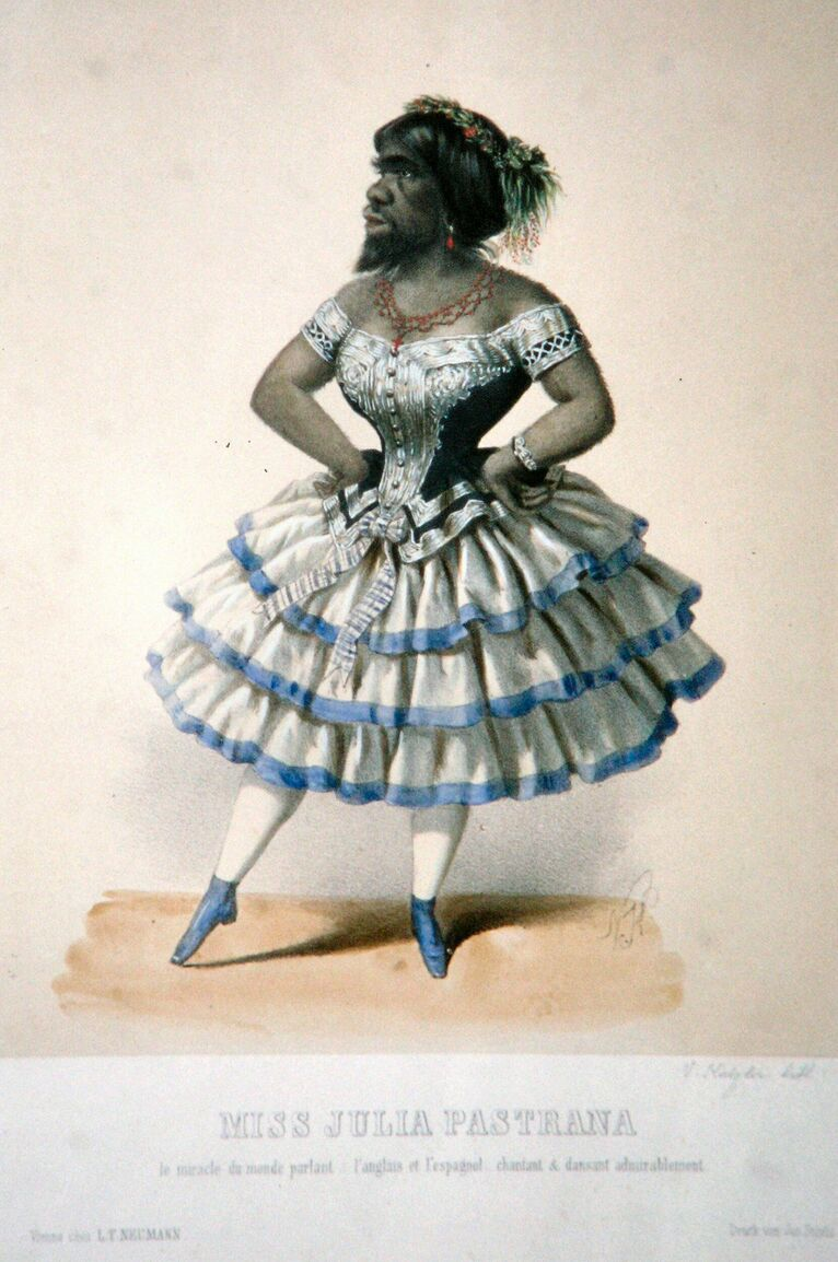 Julia Pastrana, zdjęcie Wikipedia