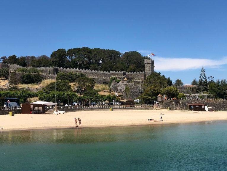 Plaża la Ribeira Baiona