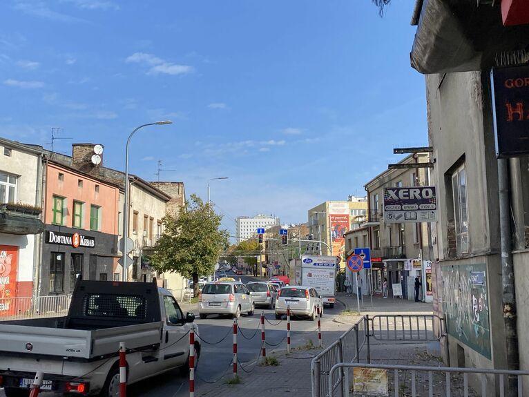 Ulica Nadbystrzycka.