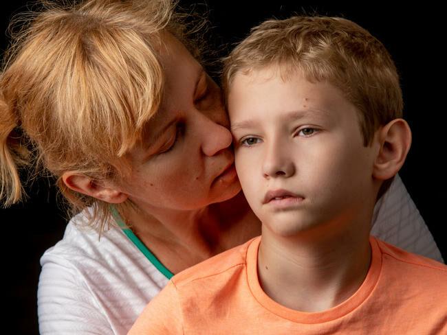 Matka z synem.