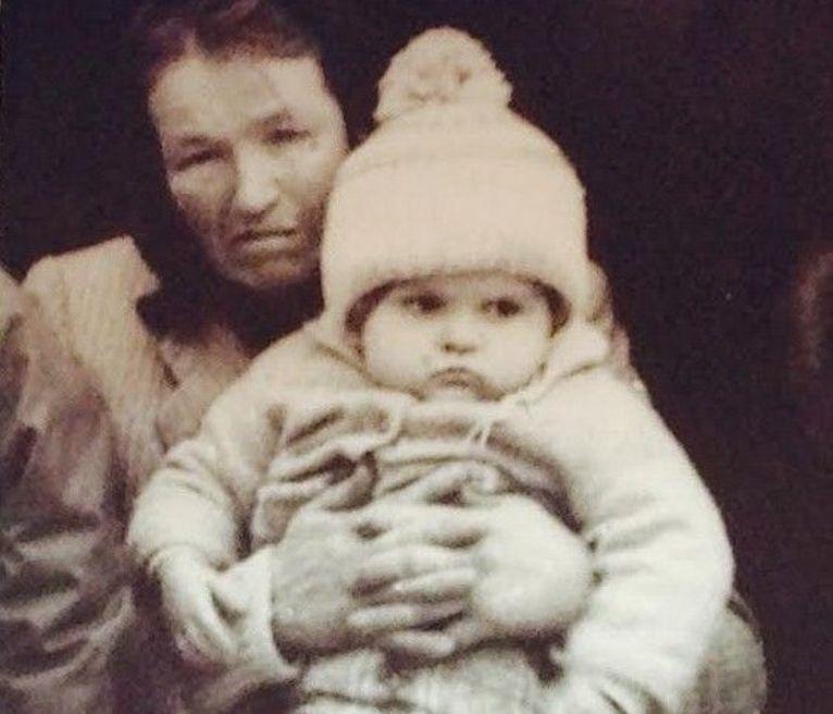 Jedyne zdjęcie z babcią.