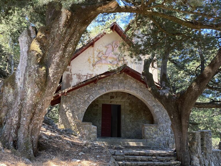 Kaplica przy willi Mussoliniego
