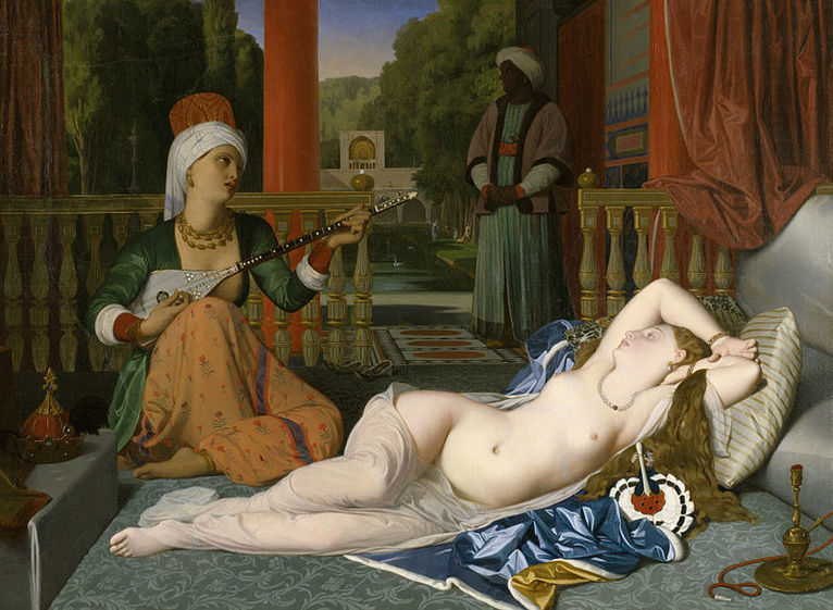 By Jean Auguste Dominique Ingres - Walters Art Museum: Home page Info about artwork, Public Domain, https://commons.wikimedia.org/w/index.php?curid=18843519