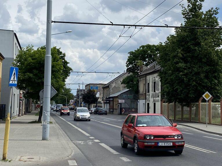 Ulica Krochmalna.