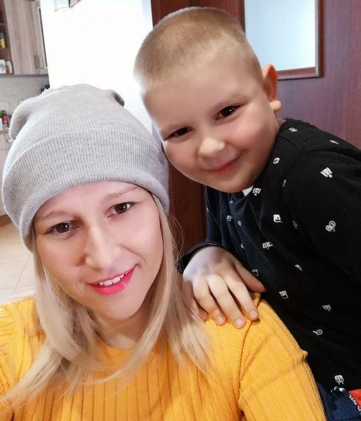 Marta z Mikołajem.