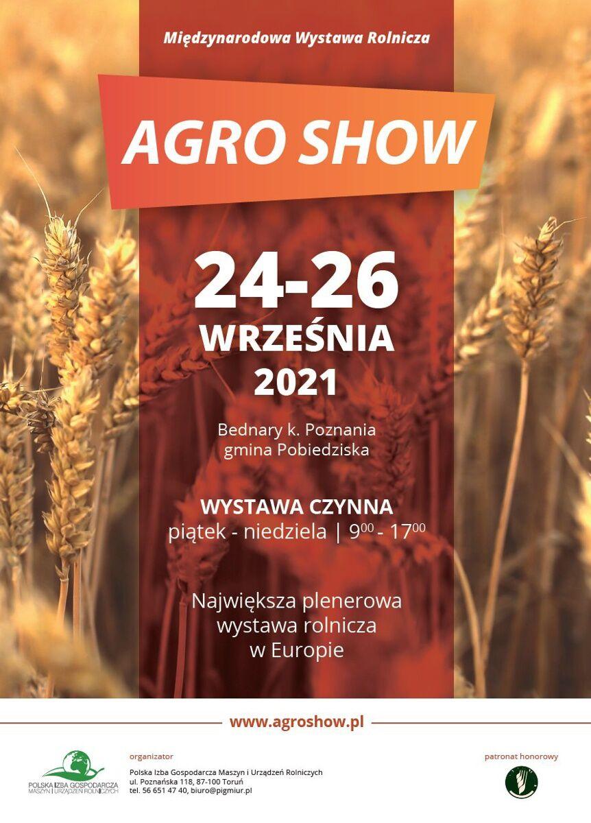 AgroShow 2021 Plakat