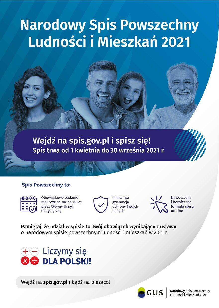 NSP Ogólne informacje, plakat A3