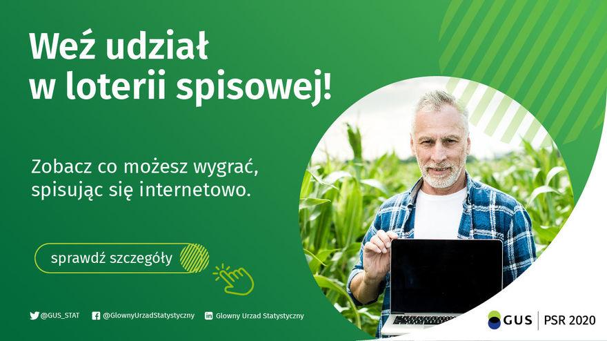 Obraz z informacją z jakich numerów telefonów dzwonią rachmistrze do rolników
