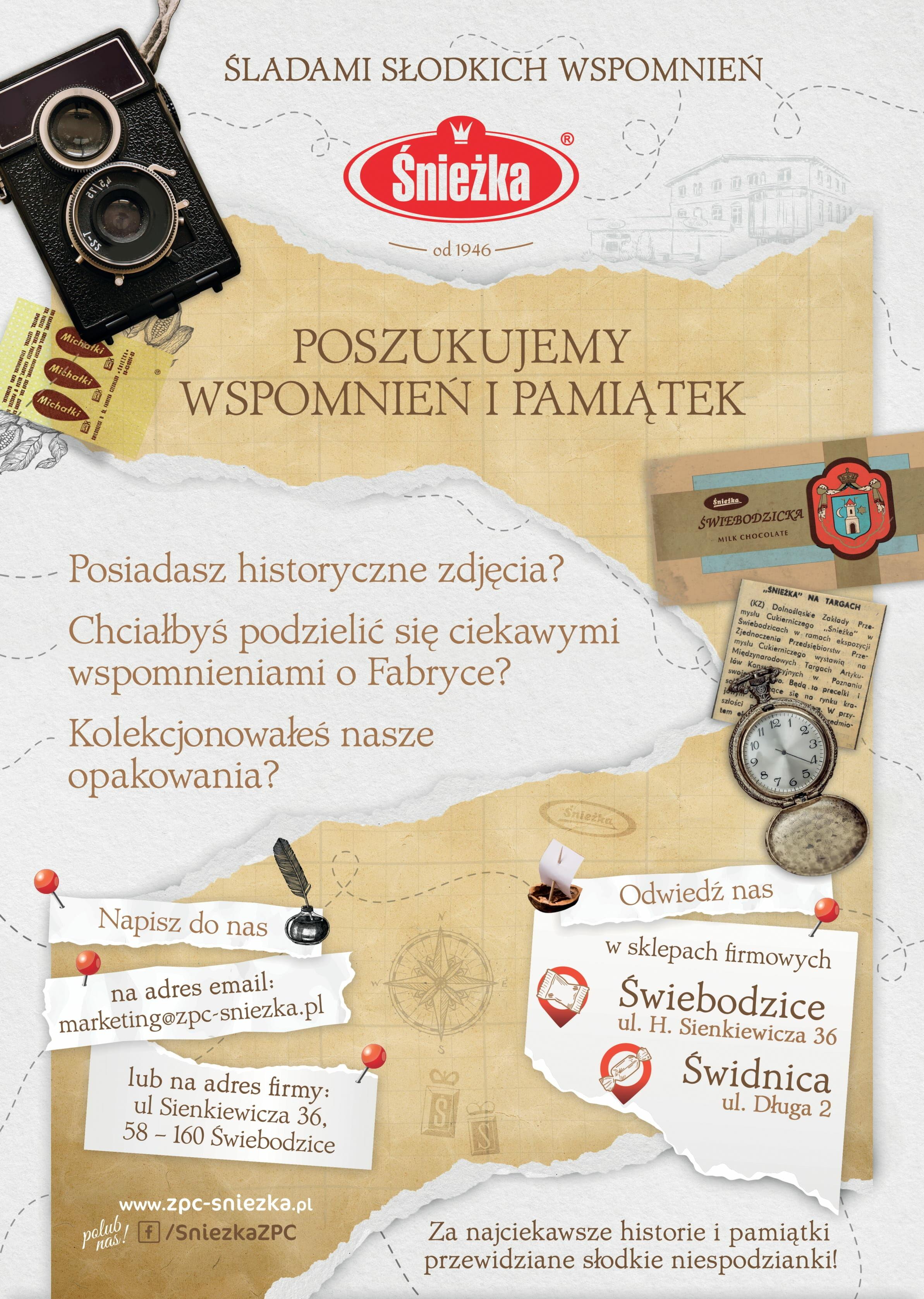 plakat ZPC Śnieżki S.A.