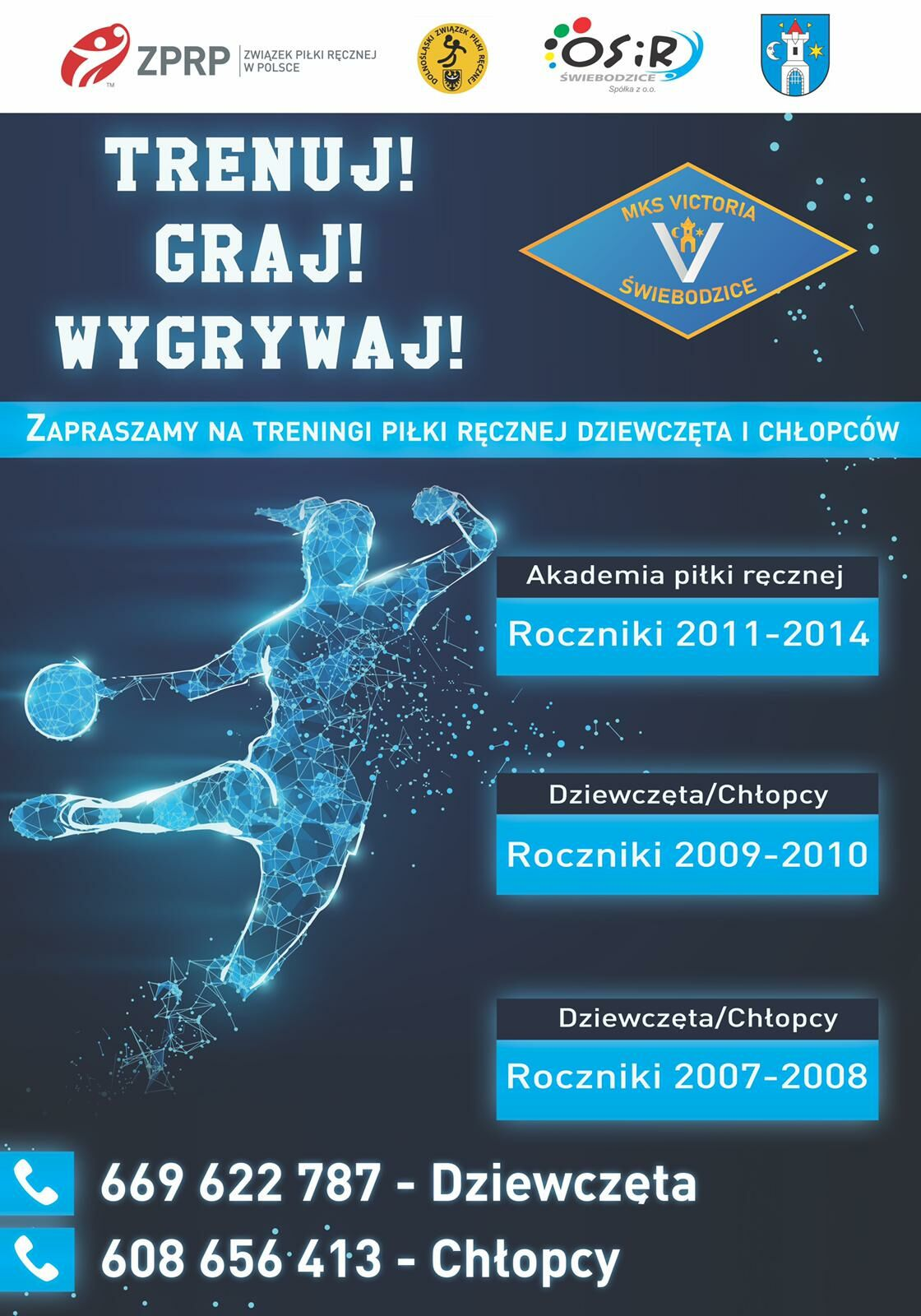 plakat MKS Victoria Świebodzice