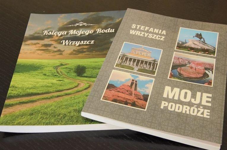 Ksiązki napisane przez panią Stefanię Wrzyszcz