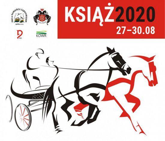 informacja o zawodach w powożeniu w Książu, które odbedą się w dniach 27-30 sierpnia 2020 roku