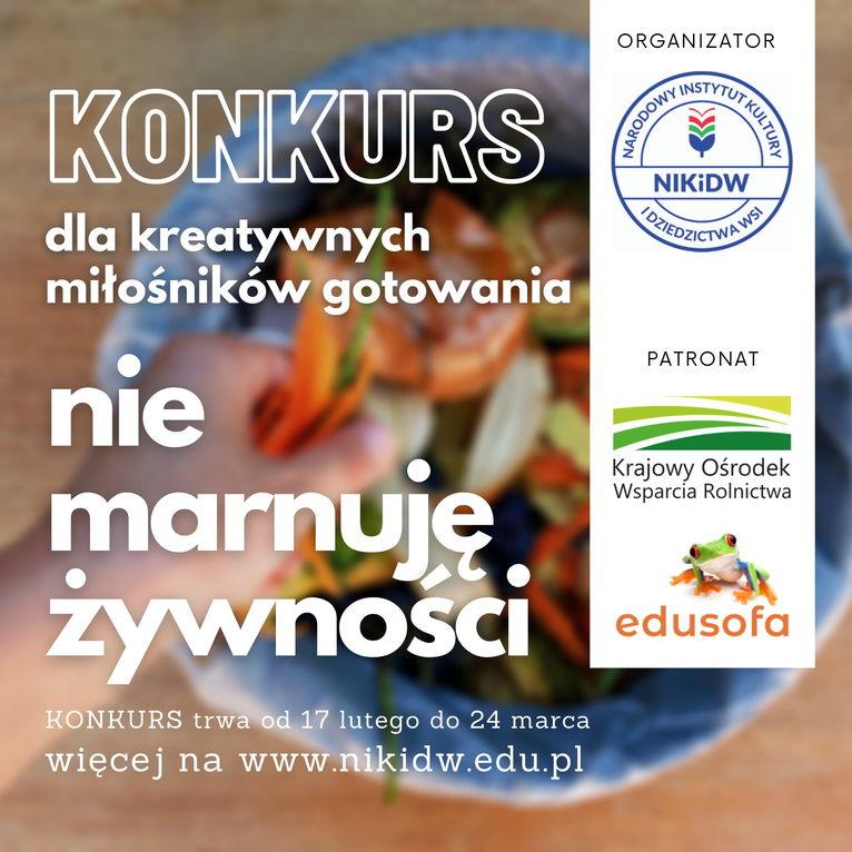konkurs kulinarny plakat