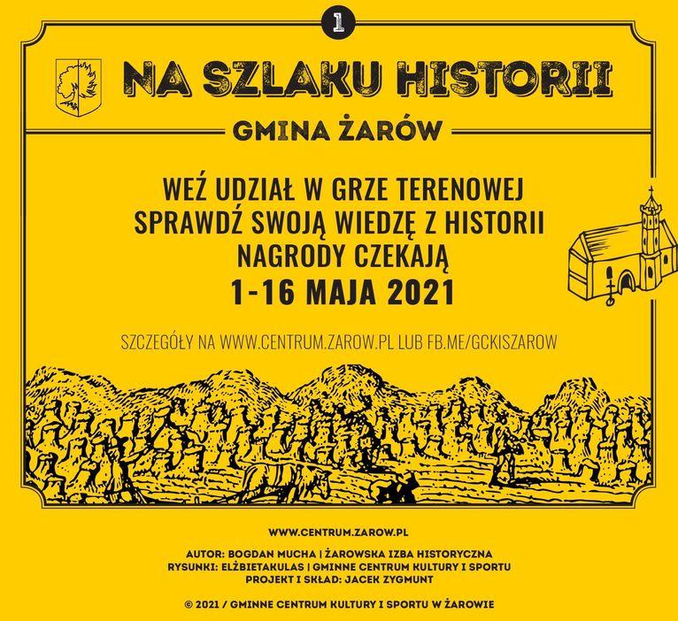 plakat Na szlaku historii