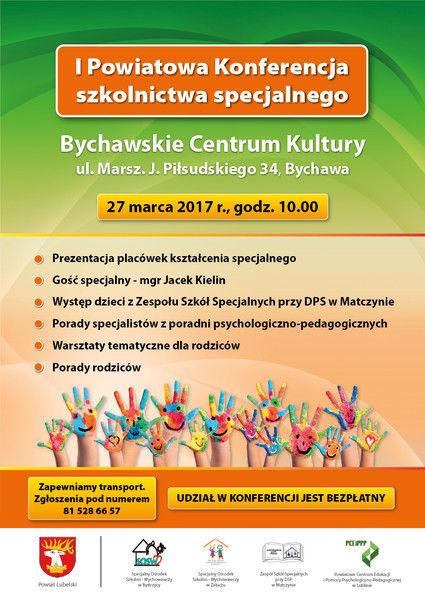I Powiatowa Konferencja Szkolnictwa Specjalnego Gmina Wojciechów